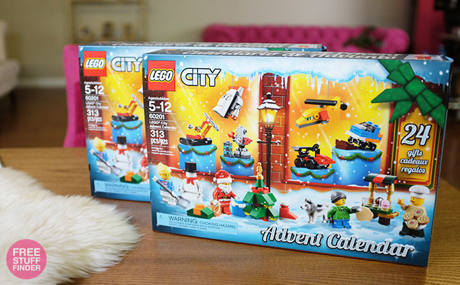 赠品时间!2 Readers Win FREE Lego City Advent Calendars - Great Gift Idea!
