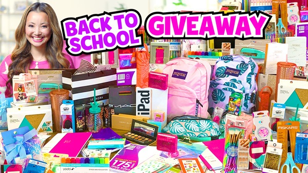 BIGGEST Back School GIVEAWAY 2019(赢取免费iPad,彩妆,学校用品)
