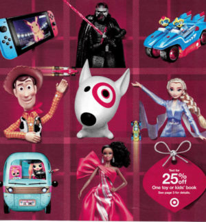 Target Toy Book Ad 2019