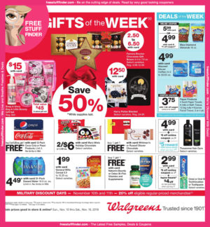 Walgreens Ad Preview (11/10 – 11/16)