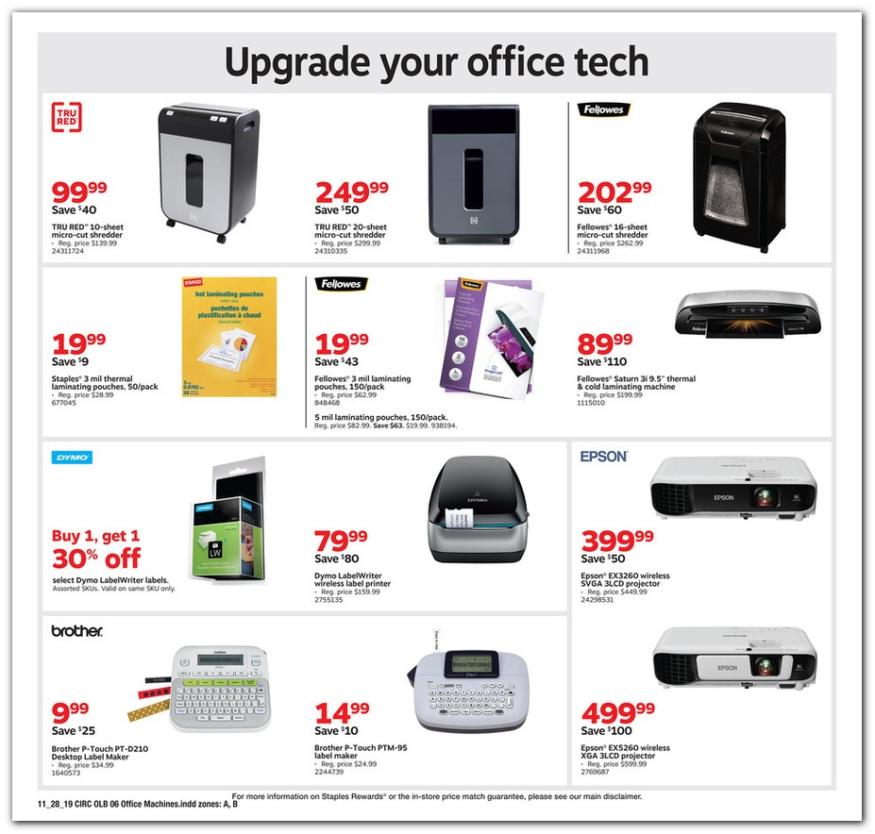 Staples Black Friday Ad 2019 | Black Friday Ads - Part 14