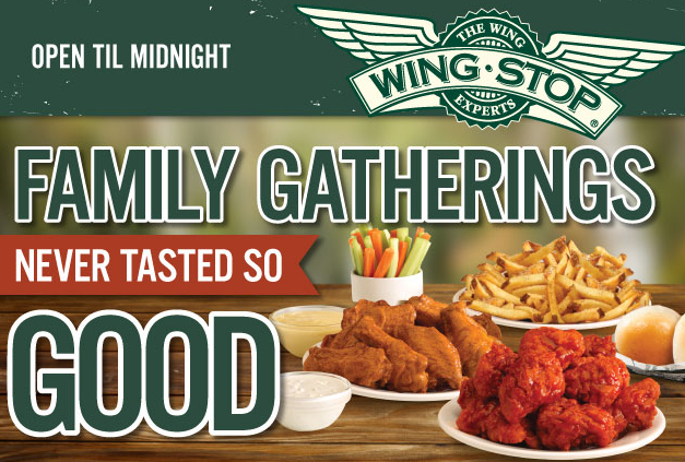 photograph relating to Wingstop Printable Menu known as Cost-free Fries With Acquire of Wings (WingStop)