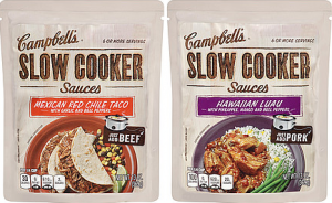 Campbells Slow Cooker Sauces