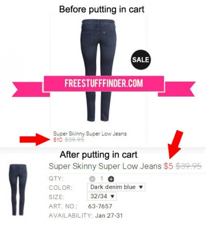 *HOT* 50% Off Clearance at H&M - Skinny Jeans Only $5