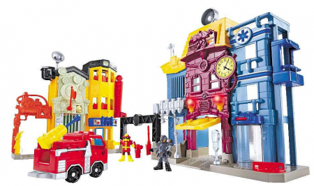 Fisher Price Imaginext Rescue City Center