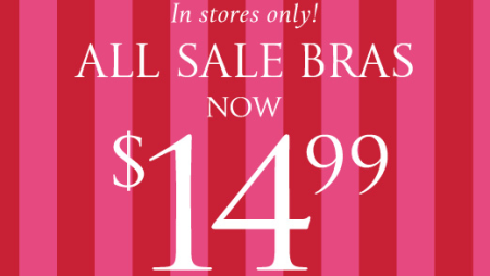 graphic about Victoria Secret Coupons Printable identify Very hot* $14.99 Bra Sale at Victorias Mystery