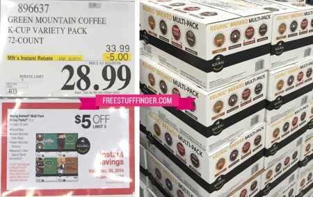 *HOT* $0.40 per K-Cup at Costco ($28.99 for 72-Count Box)