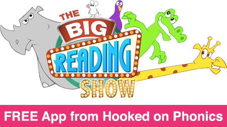 Free Reading App from Hooked on Phonics