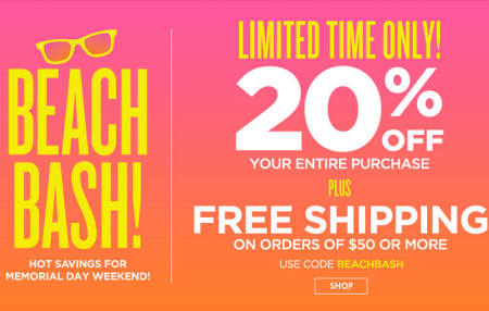 *HOT* 50% Off + Extra 20% Off at Bath & Body Works