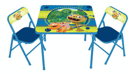 19 98 Reg 45 Disney Henry Hugglemonster Activity Table