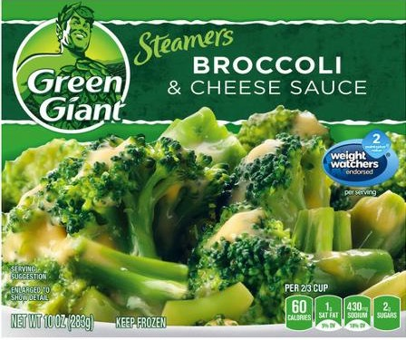 Green Giant Frozen Vegetables (7-10 oz)