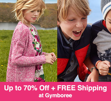 Up to 70% Off + FREE Shipping at Gymboree