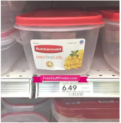 50% Off Rubbermaid