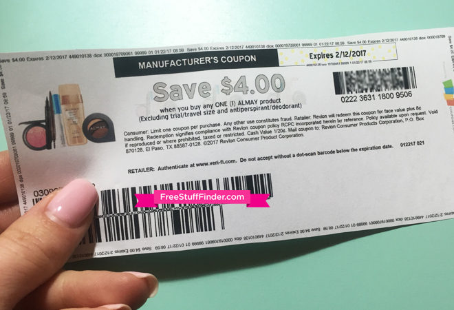 photo about Almay Coupon Printable referred to as Operate! Unusual $4.00 Off Almay Coupon (Totally free or Inexpensive Make-up