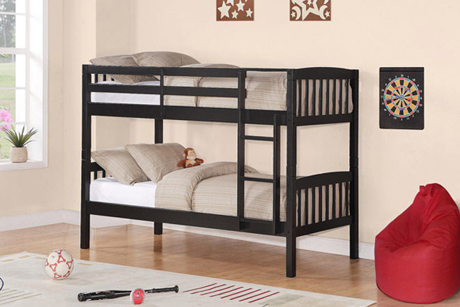 *HOT* $62.71 (Reg $200) Essential Home Twin Bunk Bed + FREE Shipping