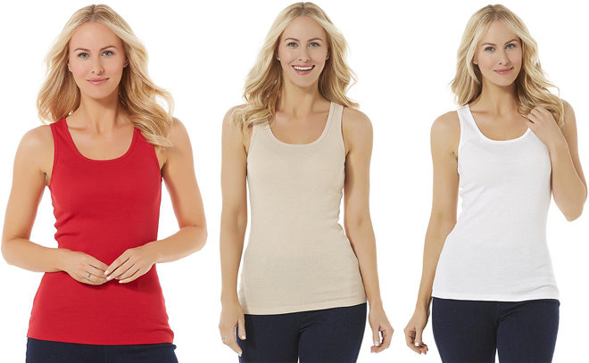 *HOT* $1.32 (Reg $4) Women's Tank Tops + FREE Pickup