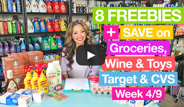 NEW VIDEO: Target & CVS Couponing Deals (Week 4/9-4/15)