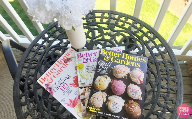 HURRY! FREE Better Homes & Gardens Magazine (1 Year Subscription!)