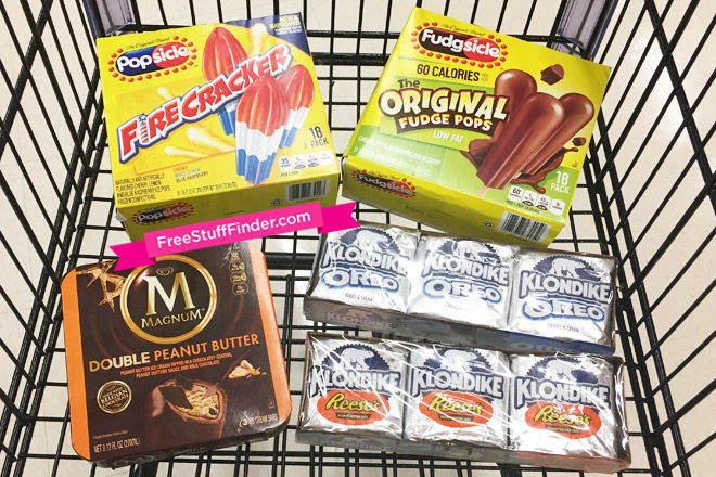 *HOT* $1.92 (Reg $6) Ice Cream Treats at Safeway + Win A Year's Supply of Ice Cream
