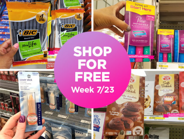 Shop For Free Roundup (Week 7/23-7/29)