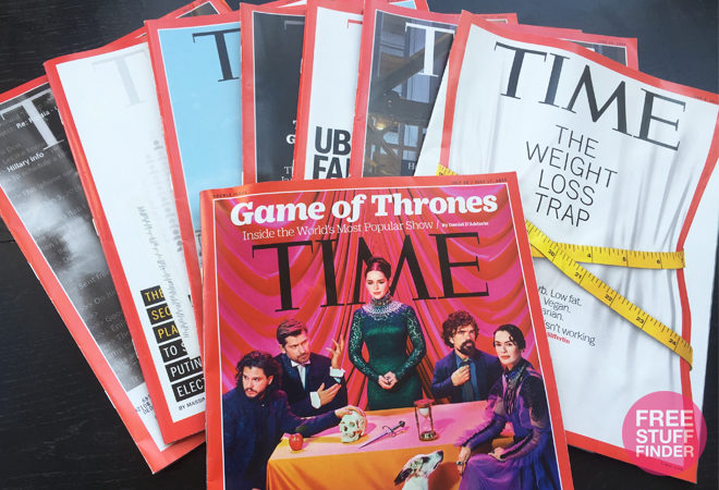 HURRY! FREE 1-Year Time Magazine Subscription (RARE Offer!)