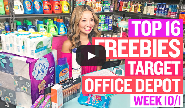 NEW VIDEO: TOP 16 Deals at Target & Office Depot (Week 10/1 - 10/7)