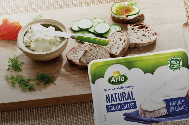 FREE Arla Cream Cheese at Publix