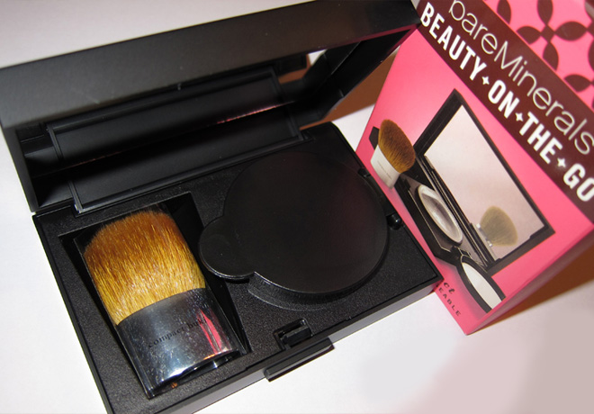 photo relating to Bare Minerals Printable Coupon identified as Sizzling* $10.80 (Reg $28) bareMinerals Splendor-upon-the-Move Small