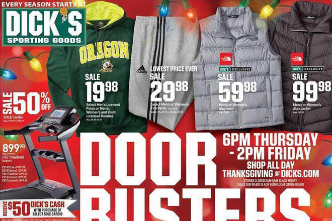 *HOT* Dick's Sporting Goods Black Friday Ad (11/23-11/25)