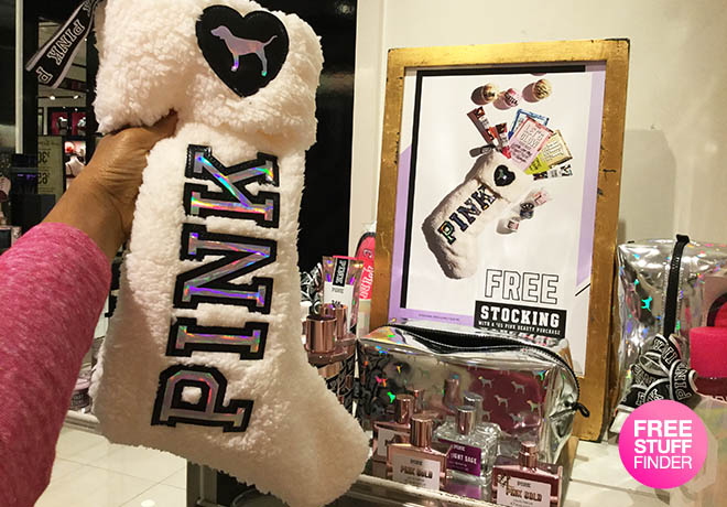 4a1179c1c6921 FREE Victoria's Secret PINK Stocking with $25 Beauty Purchase ($25 ...