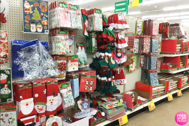 *HOT* $0.50 Christmas Clearance at Dollar Tree (Gift Bags, Stocking Stuffers & More!)