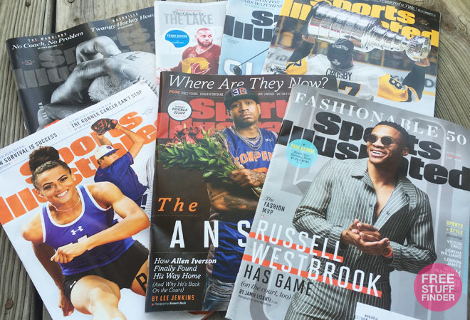 FREE Subscription Sports Illustrated Magazine