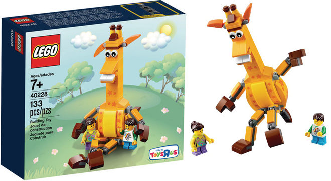 $3.99 LEGO ToysRUs Geoffrey & Friends Set + FREE Pickup