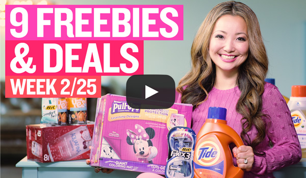 NEW VIDEO: Freebies & Deals at Target, Walgreens & Rite Aid This Week (2/25 - 3/3)