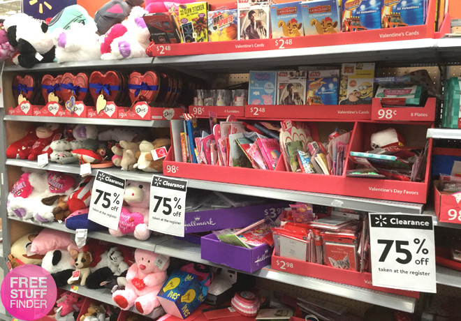 *HOT* 75% Off Valentine's Day Clearance at Walmart (Starting at $0.62!)