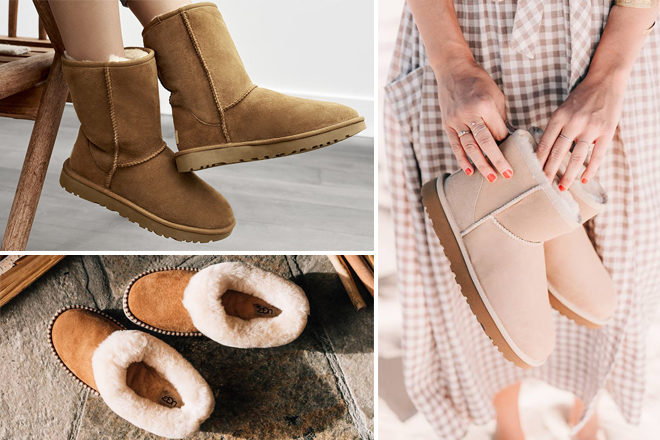 HURRY! Up to 69% Off UGG Australia Boots and Shoes for the Family (Prices Start at $22!)