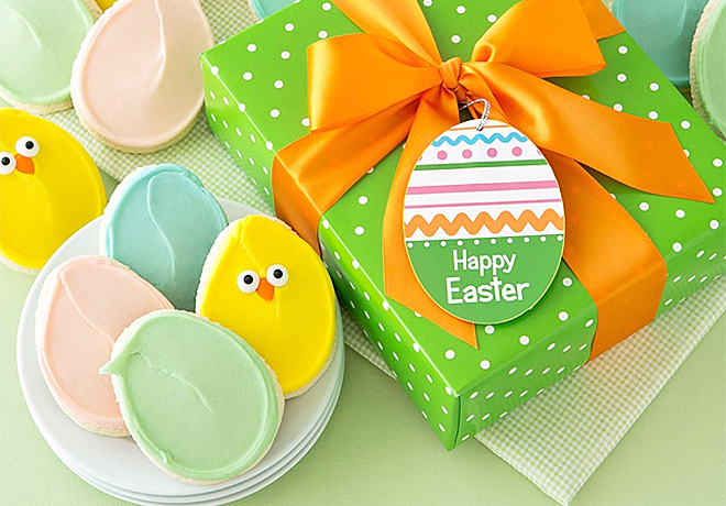 *HOT* Easter Cookie Gift Baskets (24 Count), Only $5 - Regularly $37!