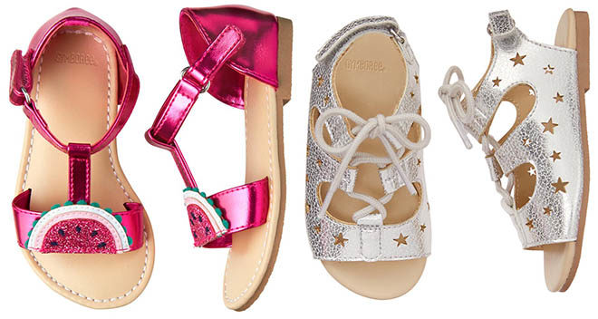 Girls & Boys Sandals ONLY $15 at Gymboree + FREE Shipping (Reg $32) - Today Only!
