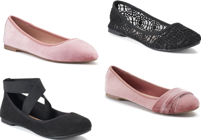 Women's SO Flats Starting at $11.99