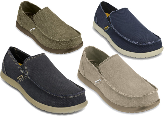 Crocs: Men's Santa Cruz Loafers ONLY $37.49 + FREE Shipping (5 Styles!) - Reg Price $55