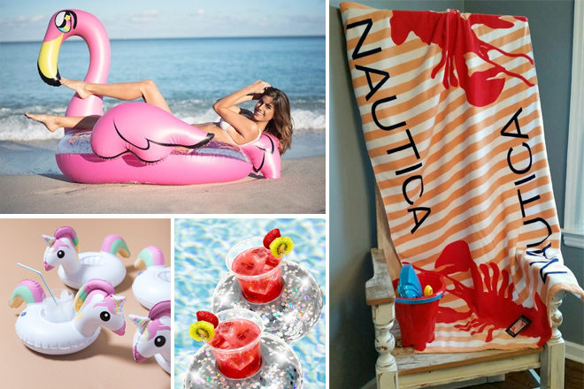 HURRY! Cute Pool Floats, Beach Towels, Glasses Up to 63% Off (Starting at $9.97!)