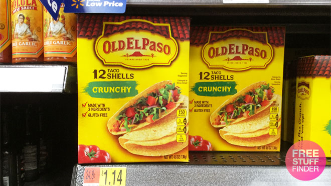 Old El Paso Taco Seasoning For Only 28 At Walmart Regularly 78 Print Now