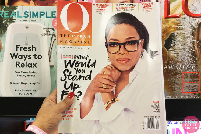 HURRY! FREE Oprah Magazine Subscription