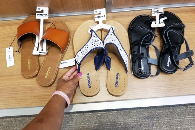 9869c1cb95cf Sonoma Women s Sandals ONLY  8.39 Per Pair at Kohl s + FREE Shipping ...