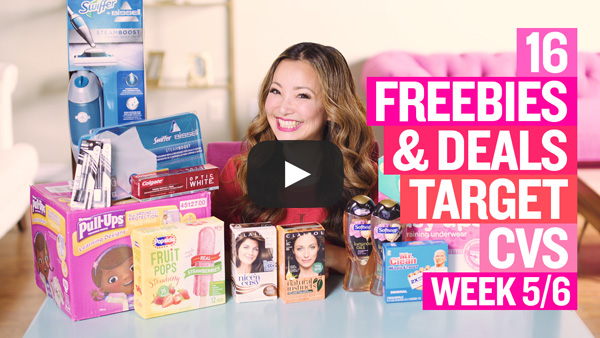 VIDEO: 16 Deals & Freebies at Target & CVS This Week (5/6 – 5/12)