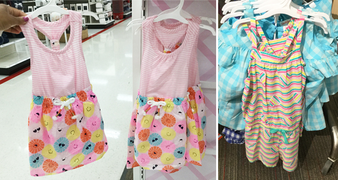 b6e41ecc98511 Target: Cat & Jack Toddler Rompers and Dresses From Only $7.99 (In ...