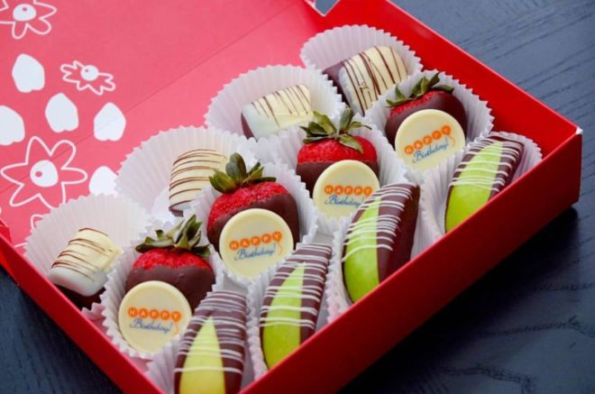 Even Better Rewards Members Will Score A FREE 12 Count Chocolate Dipped Fruit Box 29 Value For Their Birthday To Qualify The Reward