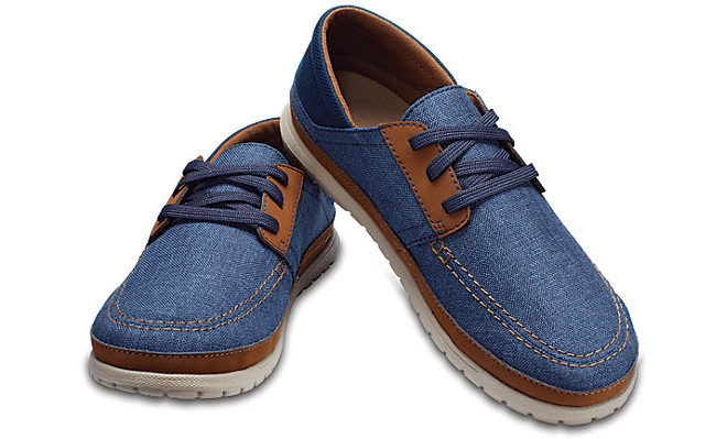 Crocs Men's Santa Cruz Playa Lace-Up Shoes Just $32.99 + FREE Shipping (Reg $60)