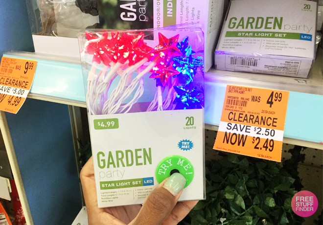 Walgreens Clearance Finds: Up to 50% Off Outdoor Lights