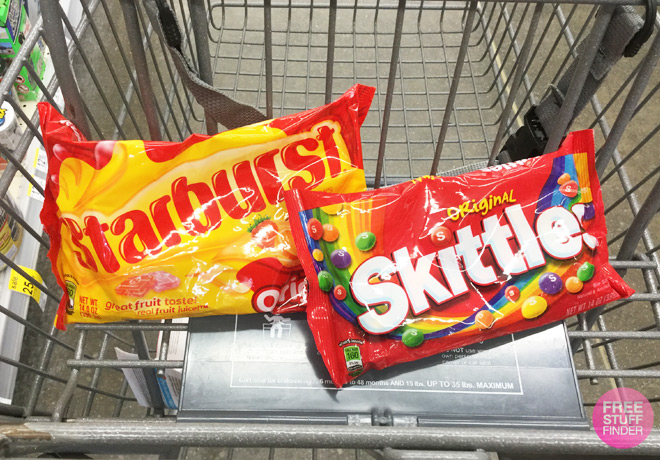 Skittles or Starburst Candy ONLY $1 Each at Walgreens
